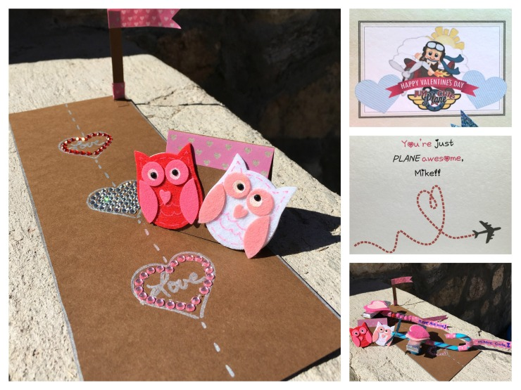 Card and Runway collage
