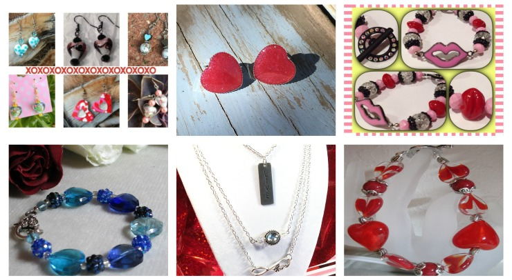 Valentine Jewelry Collage- cropped
